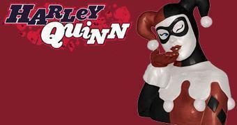 Pote de Cookies Harley Quinn (Arlequina)