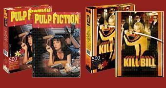 Quebra-Cabeças Quentin Tarantino: Kill Bill e Pulp Fiction
