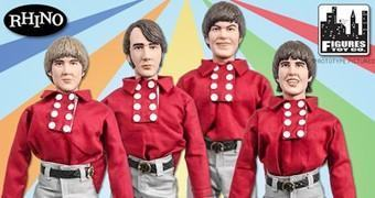 The Monkees Action Figures Retro da Banda Pop
