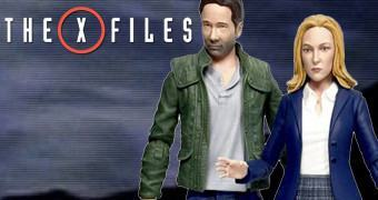 Action Figures The X-Files 2016 Select: Fox Mulder e Dana Scully