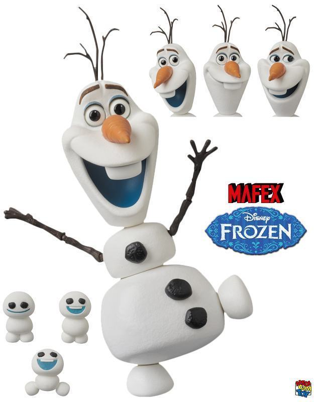 Action-Figure-Frozen-Olaf-MAFEX-Medicom-01