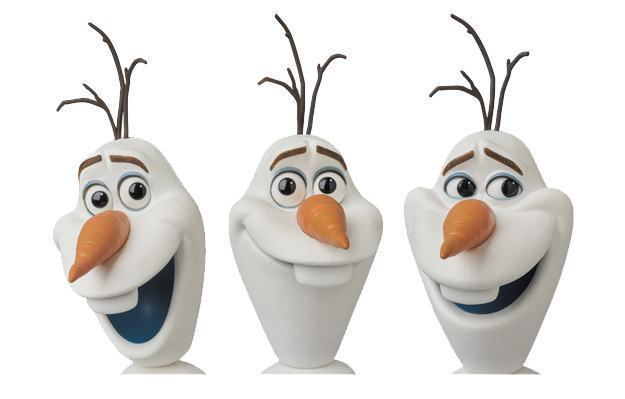 Action-Figure-Frozen-Olaf-MAFEX-Medicom-03