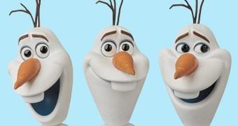 Action Figure Medicom MAFEX: Olaf, o Boneco de Neve de Frozen – Uma Aventura Congelante