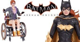 Barbara Gordon como Batgirl e Oráculo – Action Figures Batman: Arkham Knight