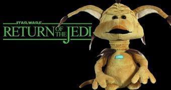 Boneco de Pelúcia Star Wars: Salacious Crumb