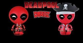 Bonequinhos de Vinil Deadpool Dorbz