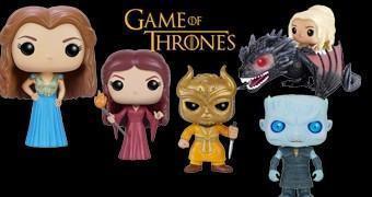 Game of Thrones Pop! Série 6: Margaery, Melisandre, Stannis, Bronn, Jorah, Harpy, Unsullied e Night's King
