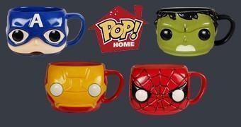 Canecas Avengers Funko Pop!