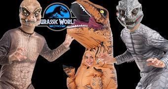 Carnaval Jurássico: Fantasias de Jurassic World: O Mundo dos Dinossauros