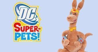 Super Bichos de Pelúcia DC Comics: Jumpa, o Canguru da Mulher Maravilha