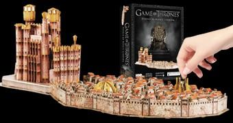 Quebra-Cabeça 3D Game of Thrones: Kings Landing (Porto Real)