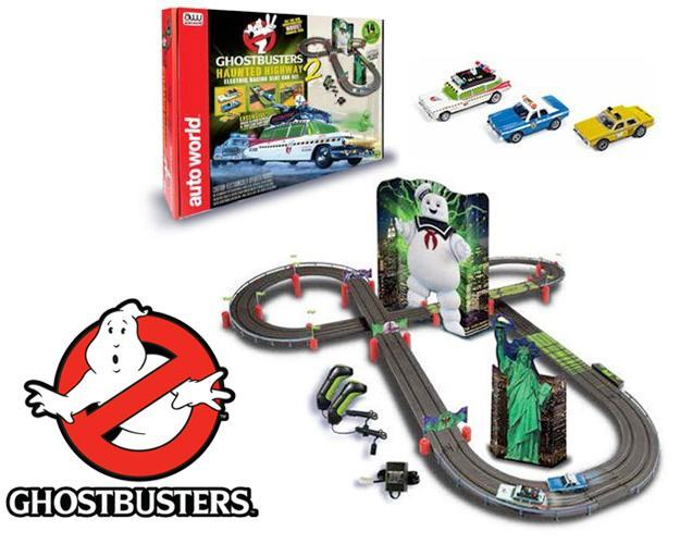 Autorama-Ghostbusters-2016-Haunted-Highway-2-Electric-Racing-Slot-Car-Playset-01
