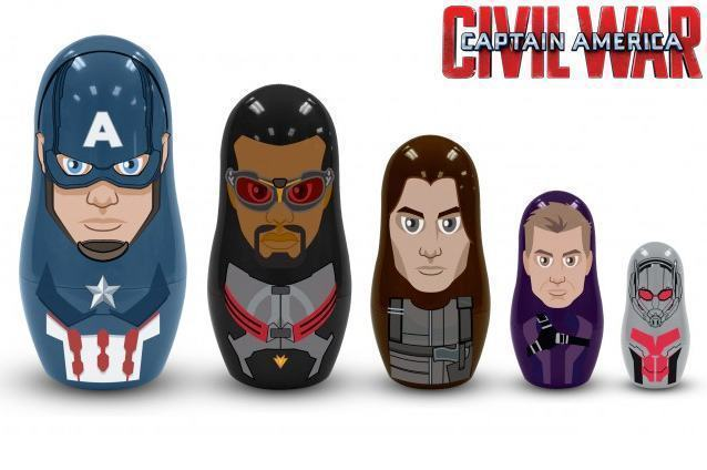 Bonecas-Matryoshkas-Captain-America-Civil-War-Nesting-Dolls-02