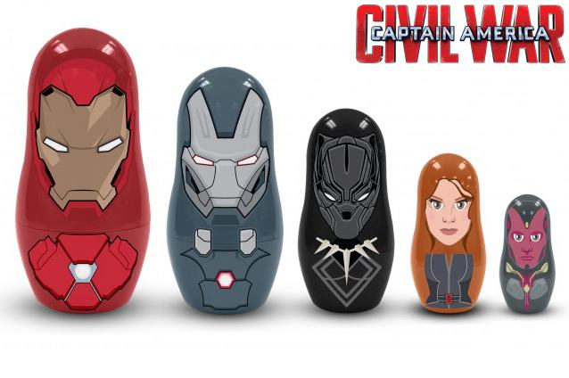 Bonecas-Matryoshkas-Captain-America-Civil-War-Nesting-Dolls-04