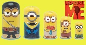 Bonecas Russas Matryoshkas Minions