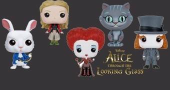 Bonecos Pop! Alice do Outro Lado do Espelho