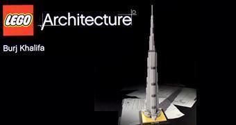 LEGO Architecture: Burj Khalifa, o Arranha-Céu mais Alto do Mundo!