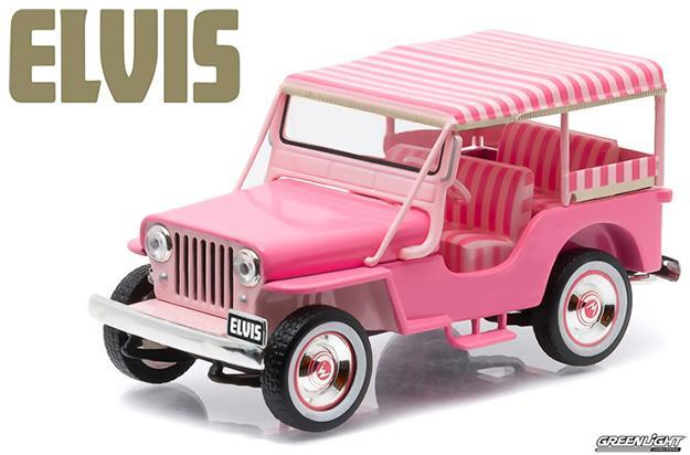 Carro-Elvis-Presley-Pink-Jeep-Surrey-1-43-Die-Cast-Metal-Vehicle-01