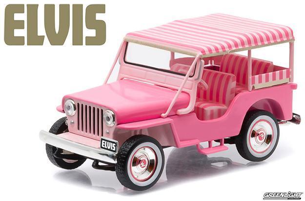 Carro-Elvis-Presley-Pink-Jeep-Surrey-1-43-Die-Cast-Metal-Vehicle-01