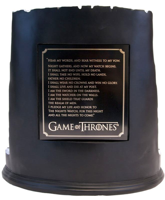 Game-Of-Thrones-Castle-Black-and-the-Wall-Desktop-Sculpture-11