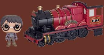 Harry Potter Pop! Rides: Harry, Ron e Hermione com o Trem Hogwarts Express