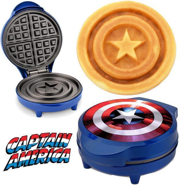 Maquina-de-Waffles-Captain-America-Shield-Waffle-Maker-Marvel-01