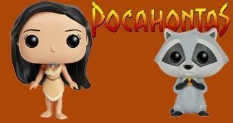 Bonecas Disney Pop! Pocahontas e Meeko