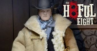 "Quentin Tarantino como Diretor e Escritor de Os Oito Odiados (Hateful Eight) – Action Figure 8"" Neca Retro"