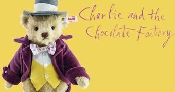 Willy Wonka Teddy Bear – Urso de Pelúcia da Fantástica Fábrica de Chocolate