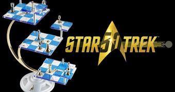 Tabuleiro de Xadrez Tridimensional de Star Trek