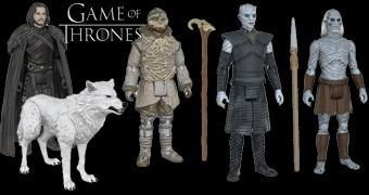 Action Figures Game of Thrones e Playset da Muralha – Funko 3.75""