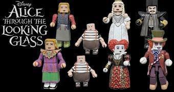 Alice do Outro Lado do Espelho Mini-Figuras Minimates