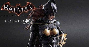 Batgirl Action Figure Play-Arts Kai do Game Batman: Arkham Knight