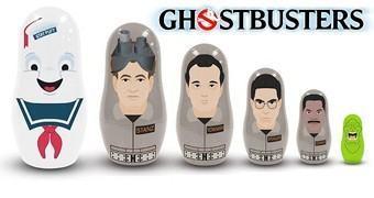 Bonecas Russas Matryoshkas Ghostbusters – Os Caça-Fantasmas Originais