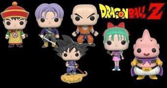 Bonecos Funko Pop! Dragon Ball Z Série 2