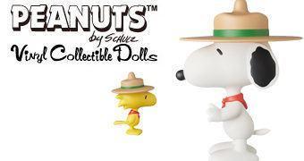 Snoopy e Woodstock Beagle Scout Escoteiros VCD – Bonecos Medicom Toy