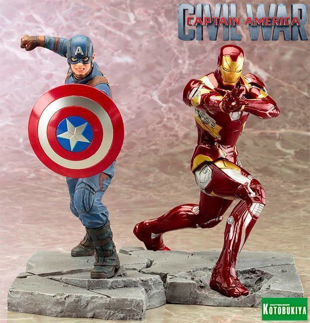 Captain-America-Civil-War-ArtFX-Statue-Captain-America-vs-Iron-Man-01