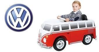 Kombi Volkswagen Camper Van 6V – Carro Elétrico para Crianças
