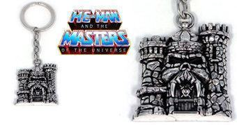 Chaveiro He-Man e os Mestres do Universo: Castelo de Grayskull