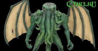 """Cthulhu, a Abominação Cósmica de H.P. Lovecraft – Figura 7"""" SD Toys"""