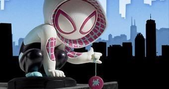 Estátua Fofinha Spider-Gwen Animated