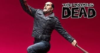 Estátua The Walking Dead Comics: Negan e Lucille