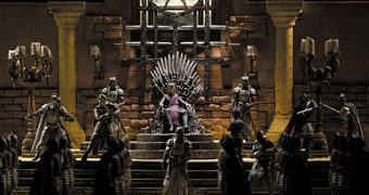 Game of Thrones McFarlane Construction: Sala do Trono e Mini-Figuras – Blocos de Montar Estilo LEGO