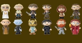 Game of Thrones Mystery Minis Série 3 – Mini-Figuras Funko Blind-Box