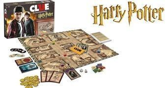 Jogo Detetive Harry Potter Clue
