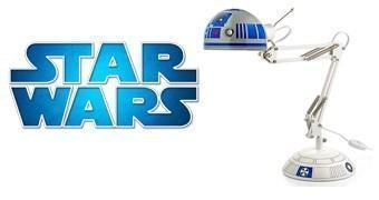R2-D2 Luminária de Mesa Arquiteto Star Wars