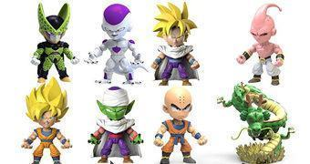 Mini-Figuras Dragon Ball Z Blind-Box (The Loyal Subjects)