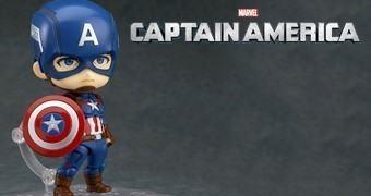 Boneco Nendoroid Capitão América – Vingadores 2: Era de Ultron