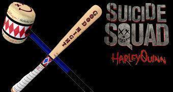 Esquadrão Suicida Harley Quinn: Bastão e Martelo de Pelúcia (SWAT)