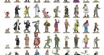 Tintin Figurines La Collection Officielle com 111 Figuras Incríveis!